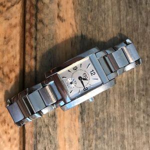 Used ESQ women's watch silver w extra links